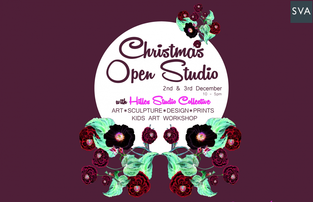 Christmas Open Studios at Hilles Studio Collection in association with SVA Stroud Valley Arts