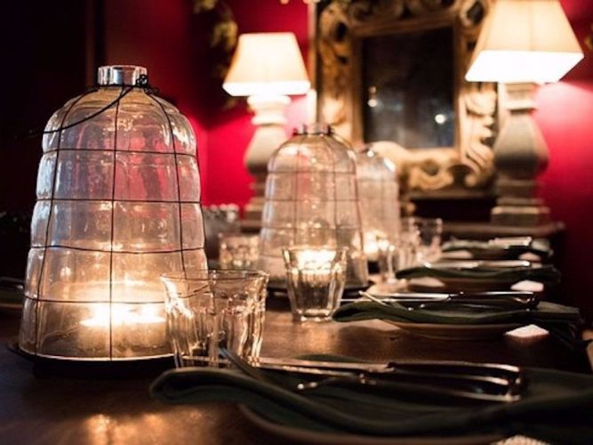 the grouse private dining room at the wild duck
