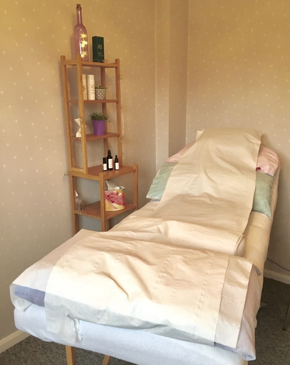 treatment bed for reflexology