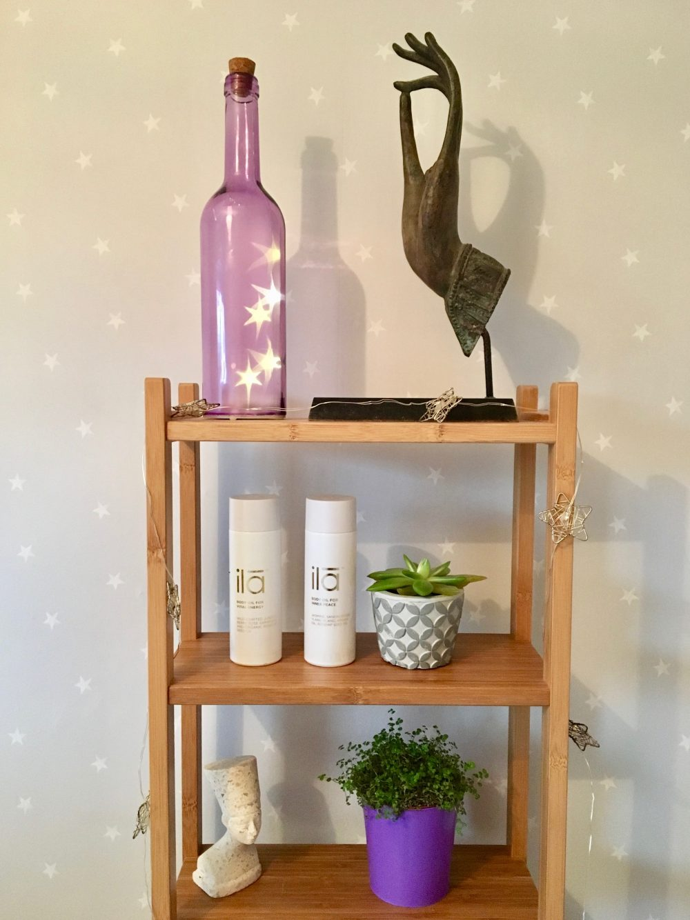 ila spa products on shelf