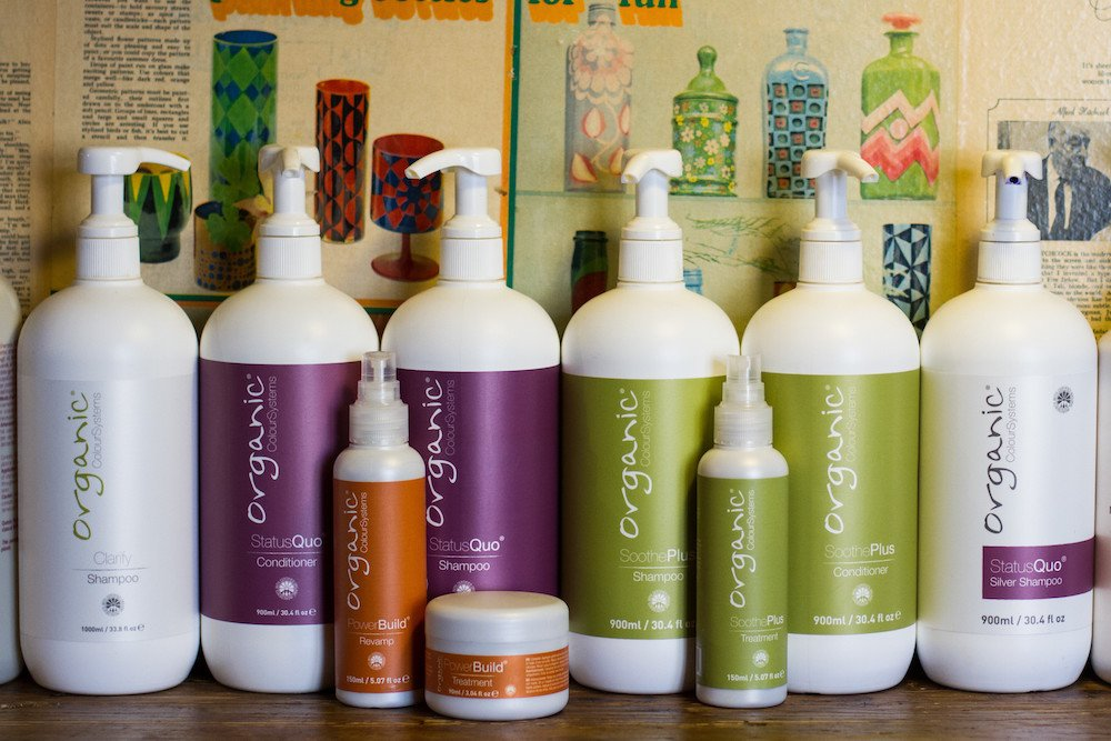 Organic Colour System products