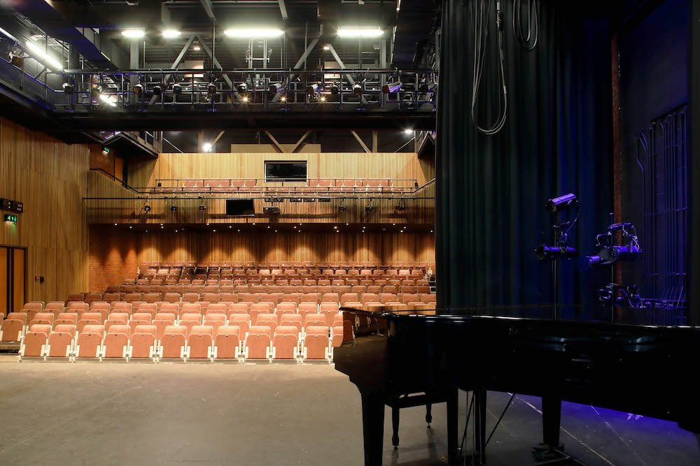 theatre seats grand piano