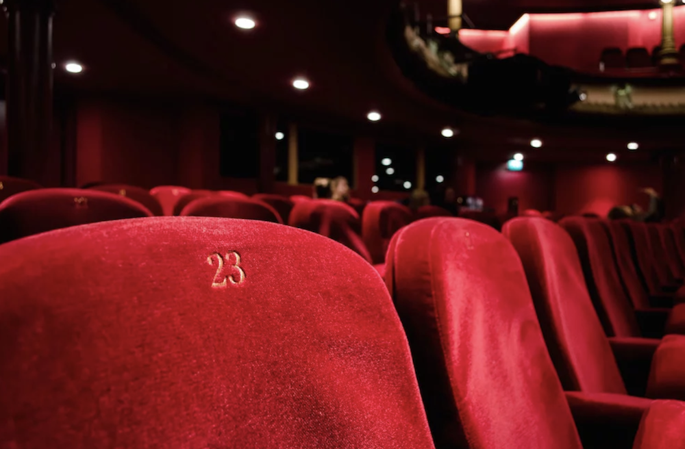 red velvet cinema seats