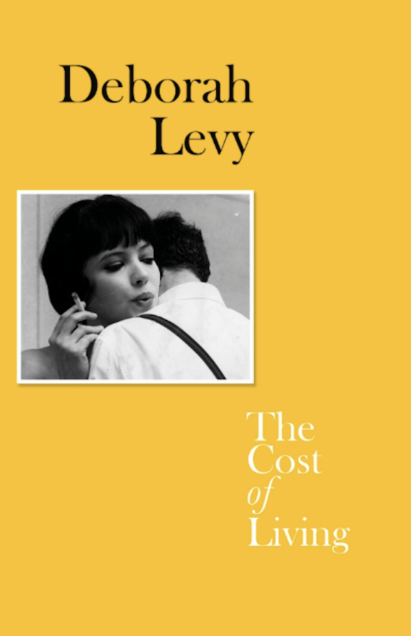 yellow book cover black and white photo man and woman embracing