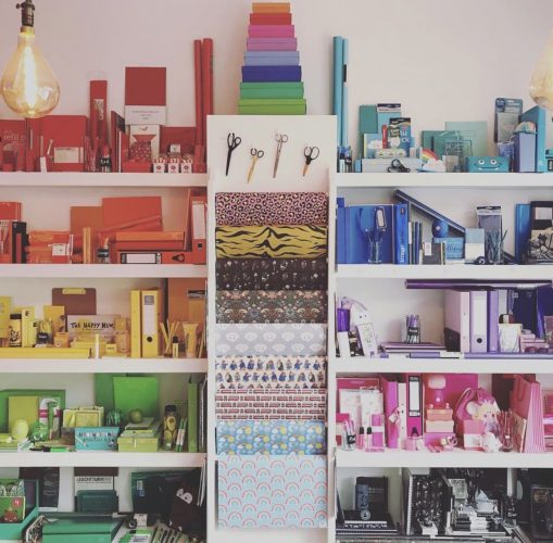 products in a shop