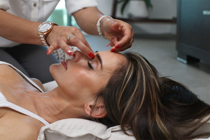 woman having treatment